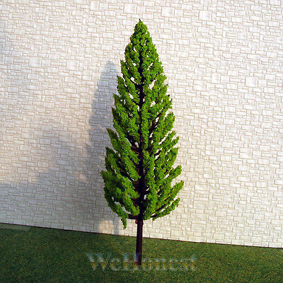 30 pcs G scale 1:32 Pine Trees Bright Green Model Trees Layout Scenery #C16060