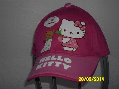 Cappello Hello Kitty Colore Fuxia