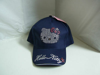 Cappello Hello Kitty Con Logo Strass