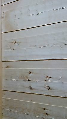 HEWED Log Siding w/Chink Joint 1 x 12, Random lengths 8'-16'