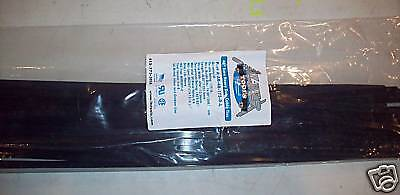 """48"""" or 4'  Nylon Cable/Zip Ties Black UV 50 Pack USA"""