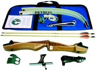 Petron S1 Wood Archery Bow Kit