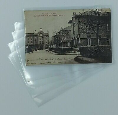 1000 Pochettes Cartes Postales Anciennes 100 Microns