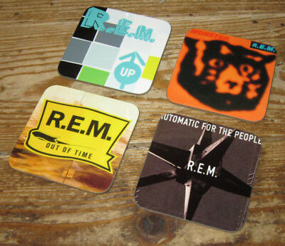 REM Album Cover COASTER Set