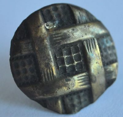 19th Century Imperial Russia TINY Copper Cap Nail