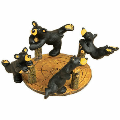 Bearfoots, The Merry Go Round Playground Figurine