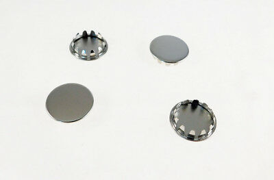 "4 Pack 7/8"" Metal Hole Plugs- Nickel Plated  SP-875-NK"