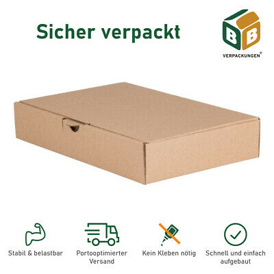 maxibrief karton versandkarton faltkarton schachtel 180x130x40 70x verpackung 3t eur 25 60. Black Bedroom Furniture Sets. Home Design Ideas