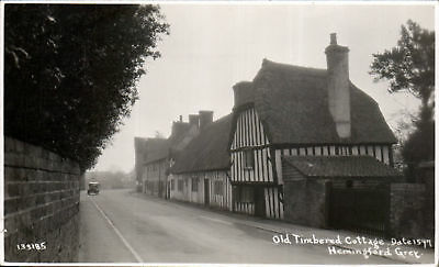 Hemingford Grey. Old Timbered Cottage # 133185.