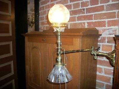 Antique Half Gas Half Electric Light