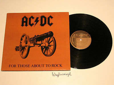 Ac/dc - For Those About To Rock, Sd 11111 Atlantic