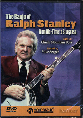 The Banjo of Ralph Stanley Learn to Play Tuition DVD