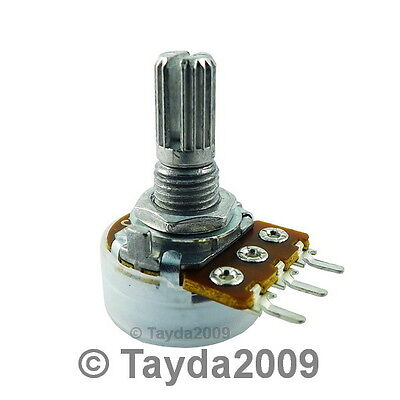 200K OHM Linear Taper Potentiometer Pot B200K