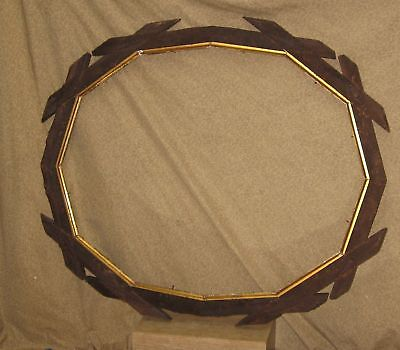 Antique American Picture Frame 19th Cent. Hand Carved