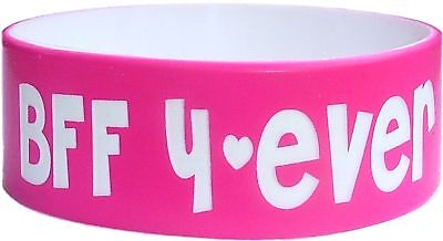 """60 ONE INCH 1/"""" COLOR TEXT CUSTOM SILICONE WRISTBANDS BIG FAT PHAT? BANDS"""