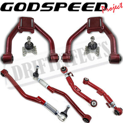 Godspeed Red Civic Crx Integra Del Sol Ef Eg Dc2 Jdm Lca Rear Lower Control Arm