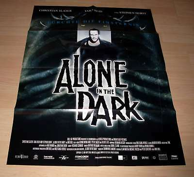 Filmposter A1 Neu Alone in the Dark - Christian Slater