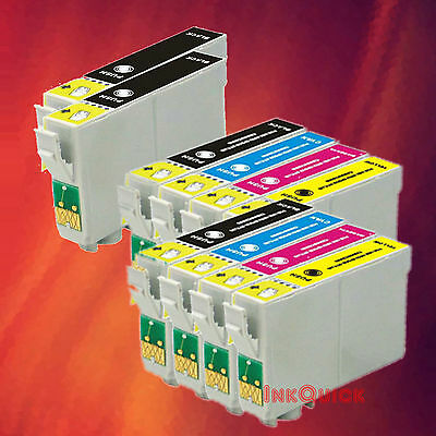 10 Ink For Epson 88 Cx4400 Cx4450 Cx7400 Cx7450 Nx100