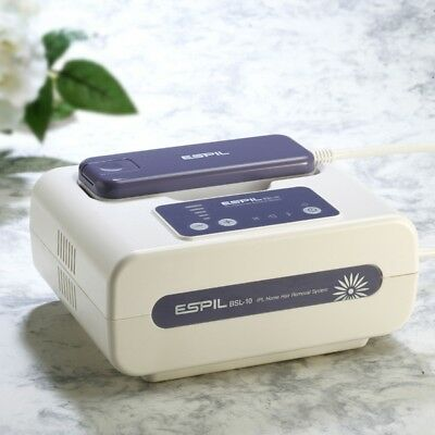 Espil IPL Laser hair removal with hair lamp, skin lamp, IPL cream, free shipping