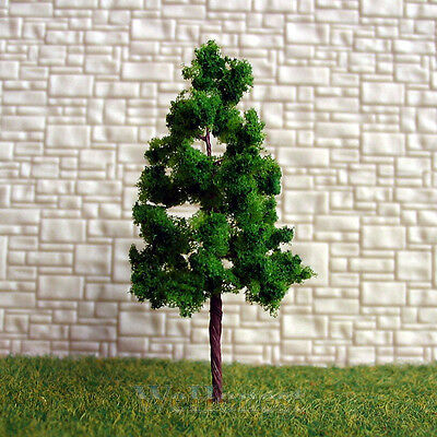 100 pcs Green Model Trees #G5020 for N Z scale layout