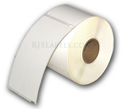 """6 rolls (1800) RJS White Shipping Labels, 2 5/16"""" x 4"""", Compatible w/DYMO 30256"""