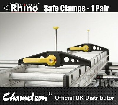 Rhino Safeclamp Safe Clamp Van Ladder Clamps ** Free Fast Delivery**
