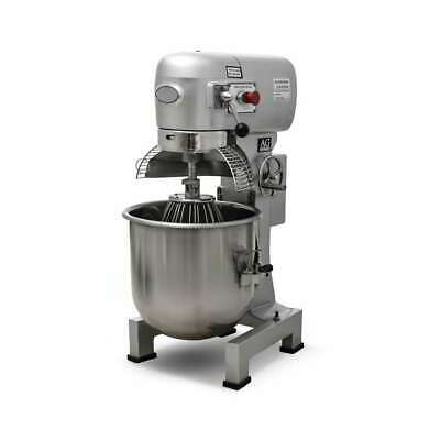 Brand New Commercial Planetary 30L Mixer Dough Capacity 10 KG Powerful 1500Watts