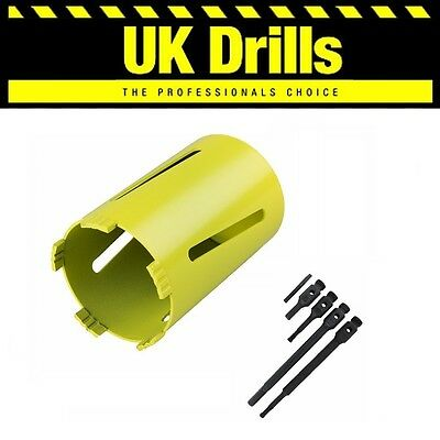 Diamond Core Drills Various Lengths Available Laser Welded & Adaptors