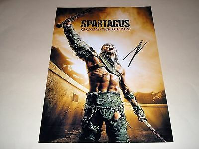 "Spartacus : Gods Of The Arena Pp Signed 12""x8"" Poster"