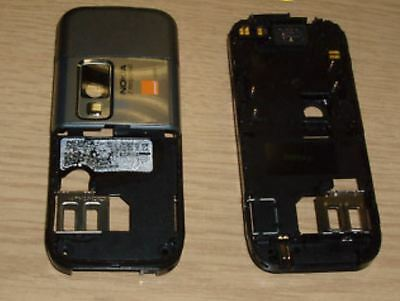Genuine Nokia 6233 Chassis Cover Housing Silver GRD A