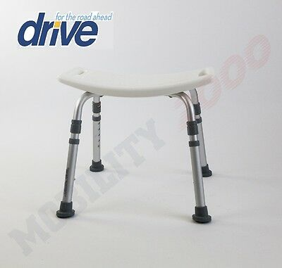 Deluxe Shower Stool / Bath Bench - By Drive Medical.