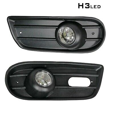 VW TRANSPORTER T4 1996-2004 fog lights lamp grille set