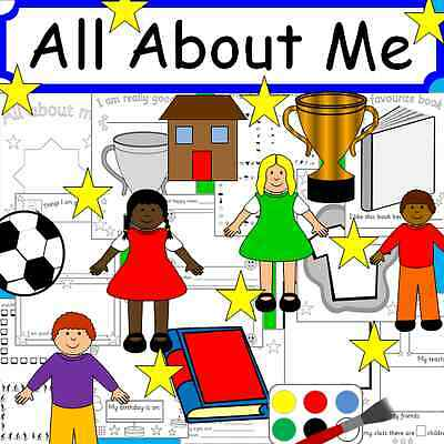 ALL ABOUT ME - New term, Ourselves- teaching resources TO PRINT -  EYFS KS1 KS2