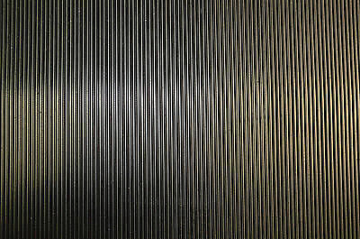 Black 1.2m & 1.5m Wide Fine Ribbed Rubber Matting Flooring 3mm Thick Cheap