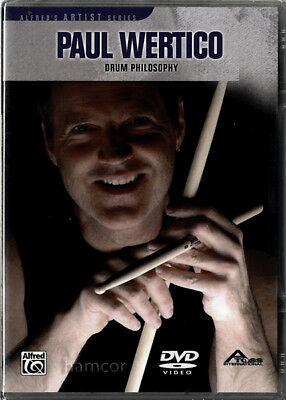 Paul Wertico Drum Philosophy Drum Tuition DVD