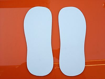 SLIPPERS DISPOSABLE STICKY FEET TANNING PEDICURE (10 pairs)