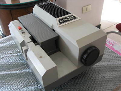 PROIETTORE DIAPOSITIVE CABIN 1000A Made in Japan
