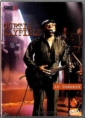 Curtis Mayfield In Concert DVD Soul