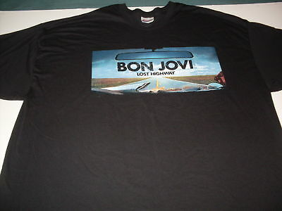 """Bon Joni """"Live And In Your Face"""" concert tee-shirt size 2XL"""