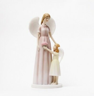 CLOSEOUT GIFT LASTING PROMISE ANGEL FLOWER MOM STATUE PRECIOUS GIFTS