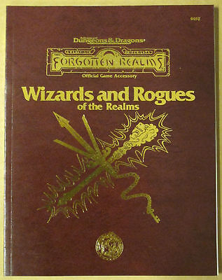 AD&D  Forgotten Realms Wizards and Rogues of the Realms