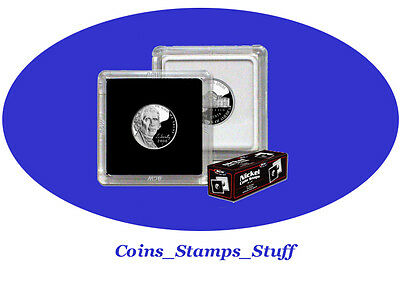 Snap Coin Holder 2 x 2 - Nickel QUANITY CLOSEOUT  PRICING + FREE SHIPPING