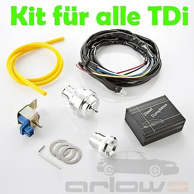 BLOW POP OFF Ventil Kit für Audi A3 A4 A6 TDI 1,9L 2,5L