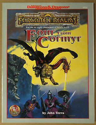 AD&D - Forgotten Realms - Four from Cormyr - 9531