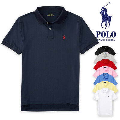 Polo RALPH LAUREN Boys Polo Shirt Mesh Polo shirt