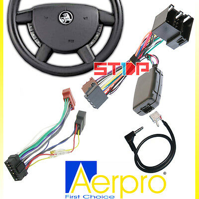 Holden Commodore Vy-Vz Steering Wheel Control Harness + Iso Wiring + Patch Lead