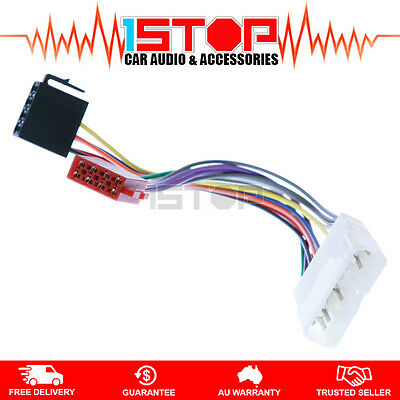 ISO WIRING HARNESS for HOLDEN RODEO RA 2003-2008 cable connector lead loom plug