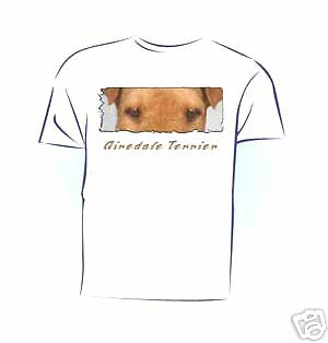 "Airedale Terrier  "" The Eyes Have It  ""  Custom Tshirt"