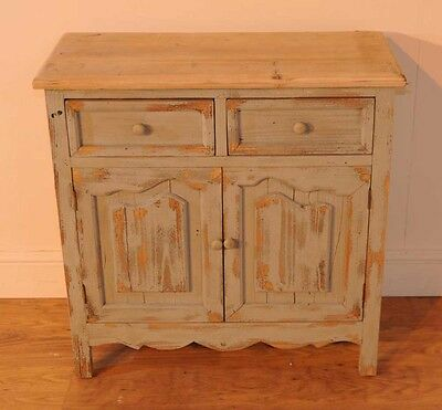 Pine Farmhouse Chest Drawers Cabinet Painted