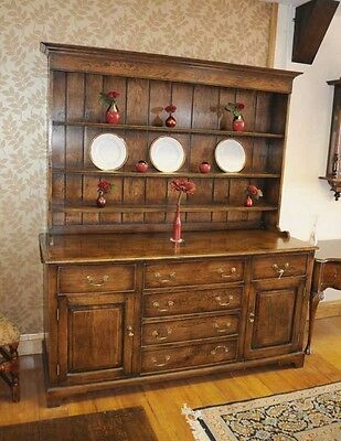 7f Kitchen Welsh Dresser Oak Farmhouse Dressers